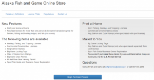 ADF&G Online Store Streamlines Hunting, Fishing Permitting Process