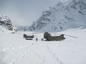 U.S. Army 'Sugar Bears' Fly Supplies to Denali