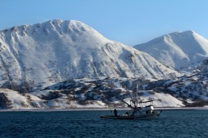 Jig boat in Kodiak