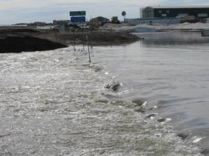 Flooding in Deadhorse. ADOT&PF photo.