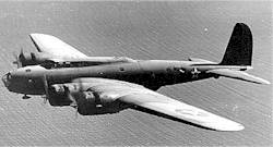 Photo of a B-17 bomber. U.S. Air Force.