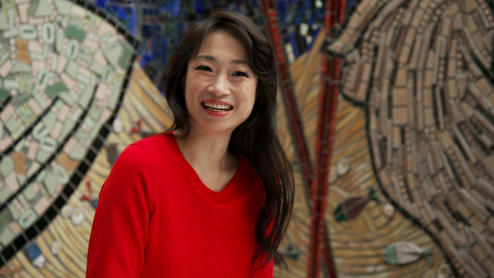 (Host Danielle Chang. Photo by: Noah Fecks.)