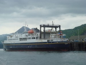 Delayed ferry heads for Unalaska despite government shutdown threat