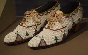 Woman's Shoes Lakota Teton Sioux (1920)