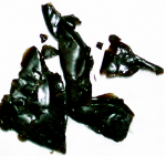 Black tar heroin is one form of the narcotic that's reached rural Alaska. Photo courtesy Alaska Department of Public Safety.