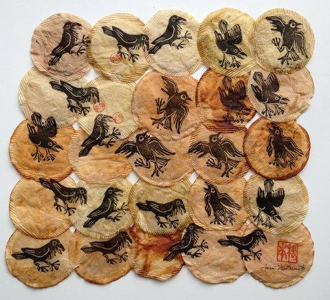 Dancing Ravens by Fumi Matsumoto
