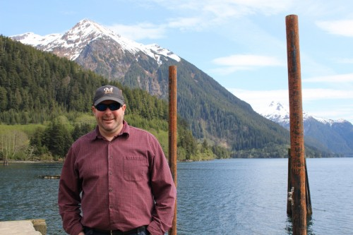 Garry White came to Sitka in 2008 and has ridden the wave of the bulk water venture. But new developments in infrastructure and capital are giving him hope that bulk water shipments to California will happen this year. (Emily Kwong/KCAW)