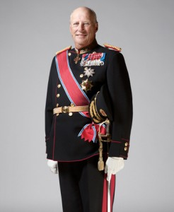 King Harald V of Norway.