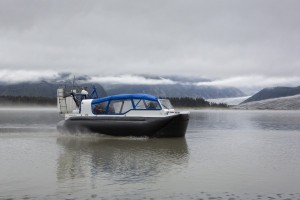 Hovercraft To Shuttle Cruise Tourists to Taku Glacier