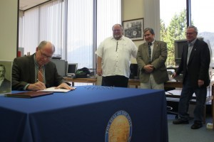 Gov. Walker signs SLAM bill for Kashevaroff, Foster