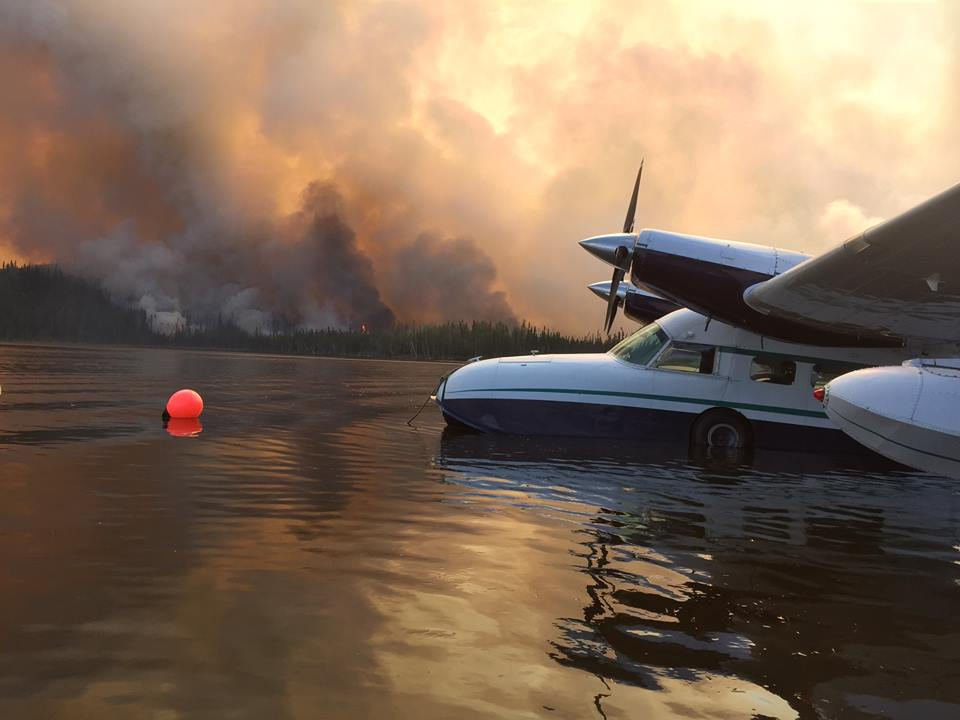 Healy Lake Fire. Photo released Thursday. (Photo Courtesy of Alaska Division of Forestry.