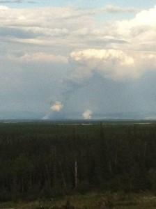 New Fires Ignite Near Healy Lake