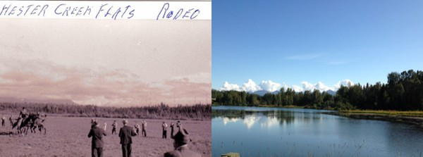 Westchester Lagoon. then and now