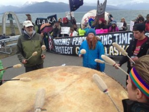 Coastal Communities Rally to Protest Naval Activity in the Gulf of Alaska