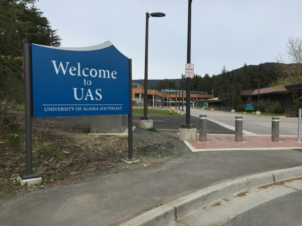 A ban on all tobacco products goes into effect July 1 on UAS's Juneau campus. (Photo by Lisa Phu/KTOO)