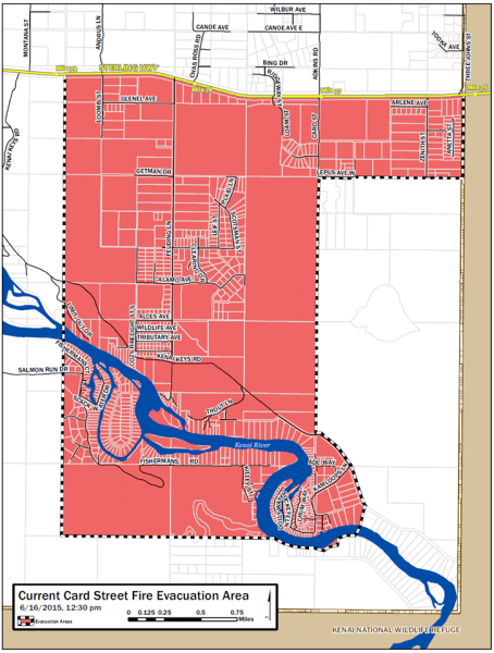 Map courtesy of the Kenai Peninsula Borough.