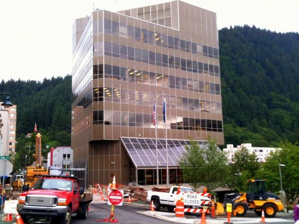 Dimond Court Building in downtown Juneau. (File photo by Matt Miller/KTOO)