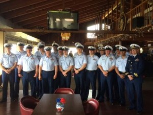 Crew of the Roanoke Island. (Photo by Quinton Chandler, KBBI - Homer)
