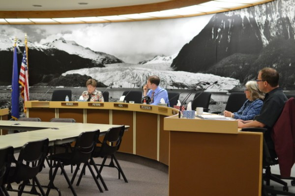The Juneau Lands and Resources committee met Monday evening to push forward an amendment to the city's land use code that would allow child care providers to care for more children. (Photo by Lakeidra Chavis/KTOO)