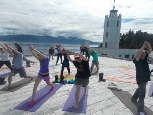 AK: At a Lonely Lighthouse, Tourists Bring A Welcome Dose of Noise, And Cash