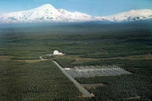 """High Frequency Active Auroral Research Program site"" by United States Federal Government - http://www.volpe.dot.gov/noteworthy/images/072302.jpg. Licensed under Public Domain via Wikimedia Commons"