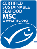 The Marine Stewardship Council's logo. Photo accessed via Wikipedia.