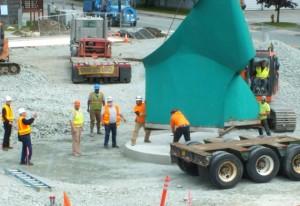 AK: Juneau's Nimbus Sculpture - An Ugly Duckling Reclaims Its Throne