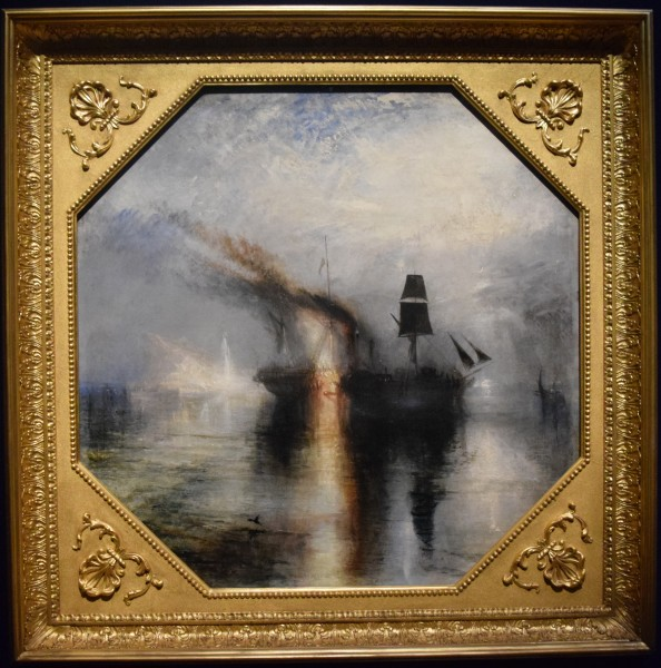 Peace-Burial at Sea, by J M W Turner (1842)