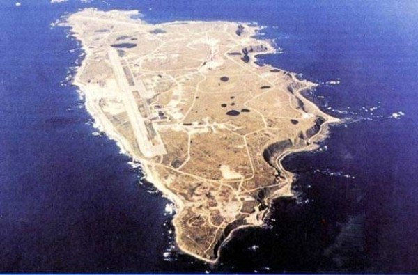 Eareckson Air Station, on Shemya Island. (Photo: US Air Force)