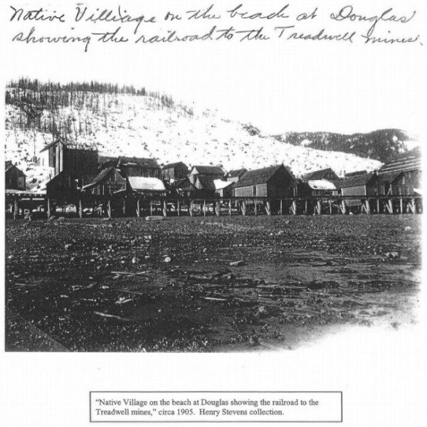 A historical photo in the Montana Indian Law Resource Center report.