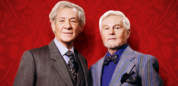 Ian McKellen as Freddie and Derek Jacobi as Stuart.(Photo Courtesy of ITV / Brown Eyed Boy Limited 2013)