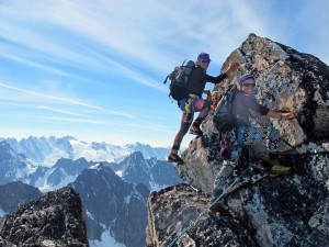 Haines climbers likely first women to summit Cathedral Peaks