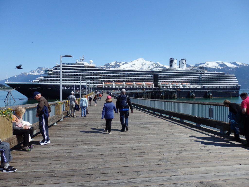 Haines Assembly Approves Cruise Ship Waiver Incentive Alaska - Docked cruise ship