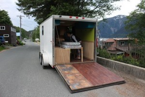 AK: Adventure-bound Juneau couple moves into $8,600 tiny house on wheels