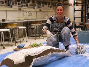 Artist Casts Bodies in Bethel to Highlight Mental Health