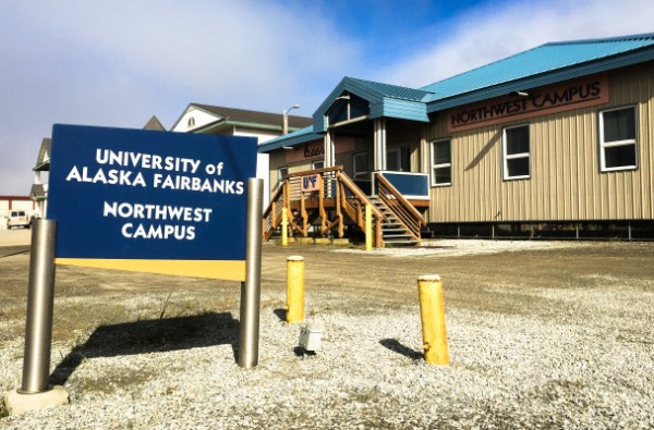 Nome's Northwest Campus. Photo: Matthew F. Smith, KNOM file.