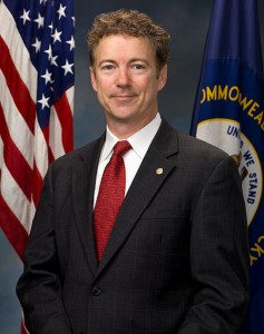 Official portrait of United States Senator Rand Paul (R-KY). Photo:  Office of United States Senator Rand Paul