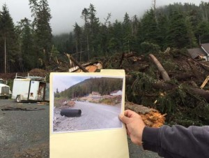 Sitka landslides: Part of a larger landscape change?
