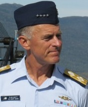 Coast Guard Commandant Paul Zukunft. Photo: KRBD