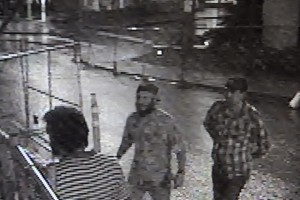 Suspected Capitol flag thieves caught on tape