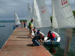 Big Lake sailing class, Alaska Sailing Club