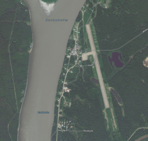 A Sleetmute man was arrested Wednesday. (Photo from Bing Maps)