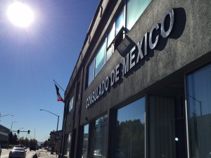 The Consulado de Mexico in downtown Anchorage will close to the public in November and staff will be gone by the end of the year. (Hillman/KSKA)