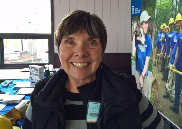 Judy Donegan of Palmer. (Photo by Anne Hillman, KSKA - Anchorage)