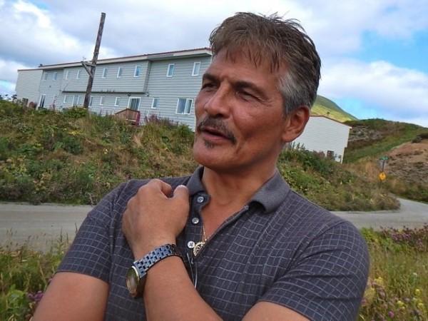 Qawalangin Tribe of Unalaska president Tom Robinson. KUCB/John Ryan photo