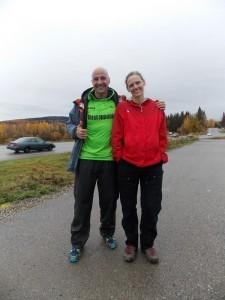 In Fairbanks, Equinox Marathon runners slog along for Usher syndrome
