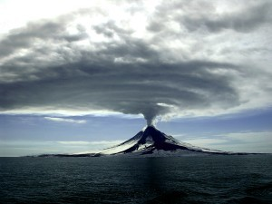 Getting to know a volcano, starting with its plume