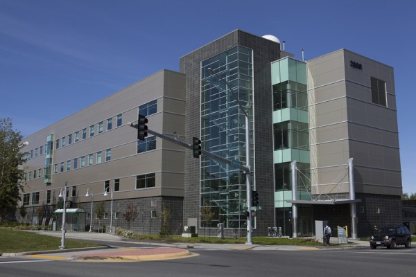 UAA's new Engineering and Industry Building. (Photo courtesy UAA)