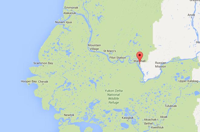 Marshall, AK. (via Google Maps)