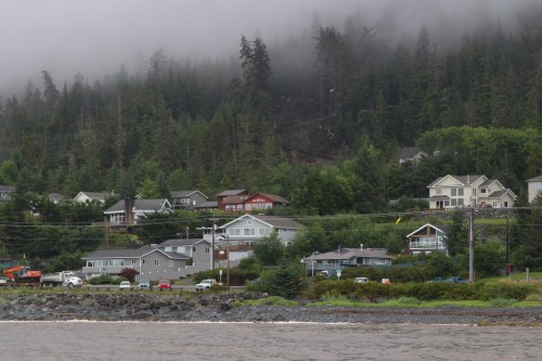 On Friday, Governor Bill Walker issued a disaster declaration for Sitka, in response to seven landslides on August 18th. The slides killed three men and caused extensive damage to private and public property, including city roads and utilities. In a letter to the legislature, Walker said he would cap relief at $1 million for the moment. Individual assistance is also available. (Rachel Waldholz/KCAW photo)